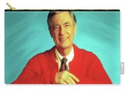Mr Rogers With Trolley Carry-all Pouch