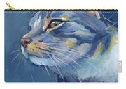 Mr. Waffles Carry-all Pouch by Kimberly Santini
