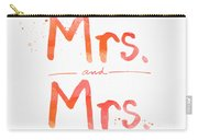 Mrs And Mrs Carry-all Pouch