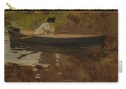 Mrs. Chase In Prospect Park , William Merritt Chase Carry-all Pouch