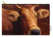 Mrs. O'leary's Cow Carry-all Pouch by James W Johnson