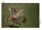 Mrs. Red Winged Blackbird Carry-all Pouch
