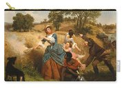 Mrs Schuyler Burning Her Wheat Fields Carry-all Pouch