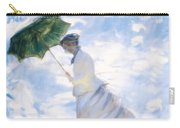 Ms Monet Blown Away  Carry-all Pouch
