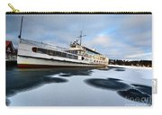 Ms Mount Washington At Winter Dock Carry-all Pouch