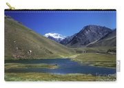 Mt Aconcagua And Laguna Horcones Carry-all Pouch