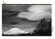 Mt Adams With Lenticular Cloud Carry-all Pouch