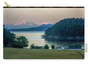 Mt Baker At Sunset Carry-all Pouch