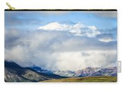 Mt Denali In The Clouds Carry-all Pouch