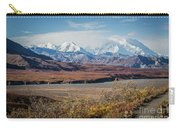 Mt Denali View From Eielson Visitor Center Carry-all Pouch