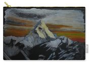 Mt Everest Carry-all Pouch by Richard Le Page
