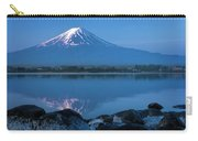 Mt. Fuji Peak In The First Sun Rays Carry-all Pouch
