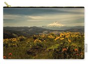Mt. Hood And Wildflowers Carry-all Pouch