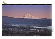 Mt. Hood From Camas Carry-all Pouch