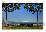 Mt Hood From Rocky Butte Carry-all Pouch