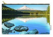 Mt. Hood In Trillium Lake Carry-all Pouch