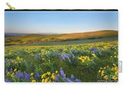 Mt. Hood Wildflower Morning Carry-all Pouch