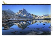 Mt Huxley Over Saphire Lake Morning - John Muir Trail Carry-all Pouch