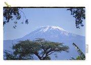 Mt. Kilimanjaro,moshi,tanzania Carry-all Pouch