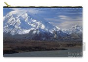 Mt. Mckinley And Lenticular Clouds Carry-all Pouch