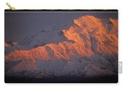 Mt. Mckinley Sunset Carry-all Pouch