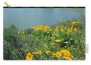 Dm9225-mt. Moran And Arrowleaf Balsamroot  Carry-all Pouch