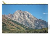 Mt Moran At The Grand Tetons Carry-all Pouch