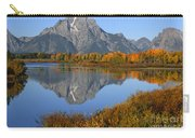 Mt. Moran Fall Reflection  Carry-all Pouch