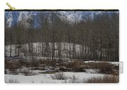 Mt Moran From Cattleman's Bridge Site Carry-all Pouch