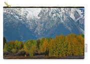 Mt Moran From Ox Bow Bend Carry-all Pouch