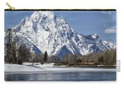 Mt Moran From Oxbow Bend Carry-all Pouch