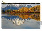 Mt Moran From The Ox Bow Carry-all Pouch