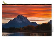 Mt. Moran Sunset Carry-all Pouch