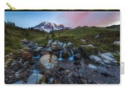 Mt Rainer Sunrise Carry-all Pouch