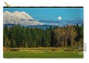 Mt Rainier Moonrise,wa Carry-all Pouch