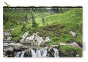 Mt Rainier Paradise Portrait Carry-all Pouch