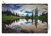 Mt Rainier Reflections Carry-all Pouch