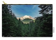 Mt Rainier Through The Trees Carry-all Pouch