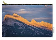 Mt Rundle Sunset Banff Carry-all Pouch