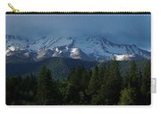 Mt Shasta Under Clouds - Panorama Carry-all Pouch