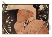 Mucha: Cigarette Paper Ad Carry-all Pouch