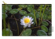 Mudd Pond Water Lily Carry-all Pouch