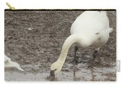 Muddy Tundra Swan Carry-all Pouch