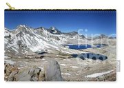 Muir Pass Panorama From High Above - John Muir Trail Carry-all Pouch