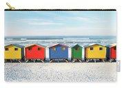 Muizenberg Beach Huts 2 Carry-all Pouch