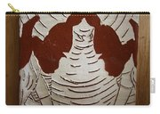 Mukama Atulabba - God Sees Us - Tile Carry-all Pouch
