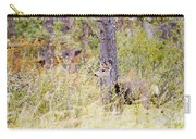 Mule Deer Doe In The Pike National Forest Carry-all Pouch