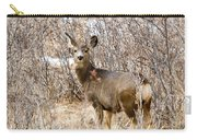 Mule Deer In Winter In The Pike National Forest Carry-all Pouch