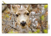 Mule Deer Portrait In The Pike National Forest Carry-all Pouch