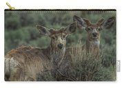 Mule Deer Visitors At Sunset Carry-all Pouch